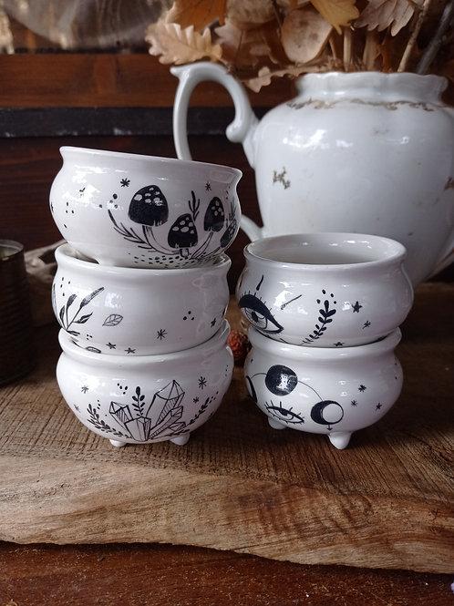 Mini Calderone in Ceramica