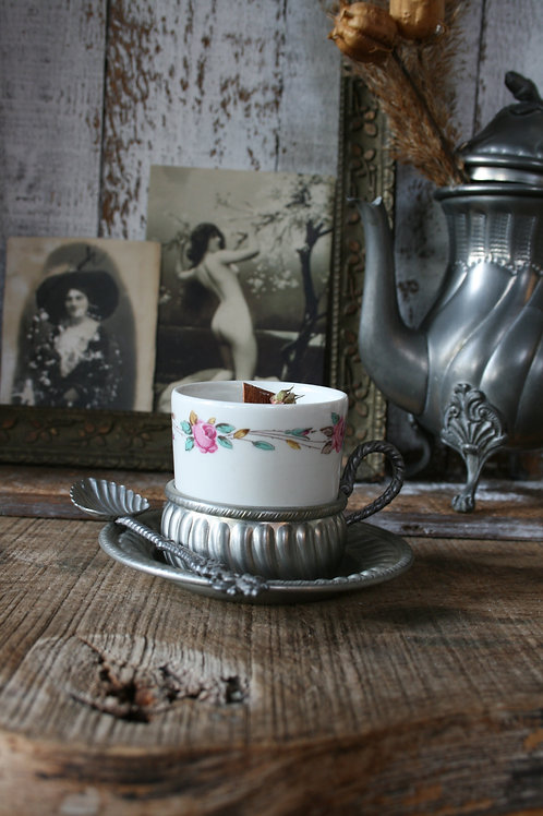 Tazzina da caffè  con cucchiaino