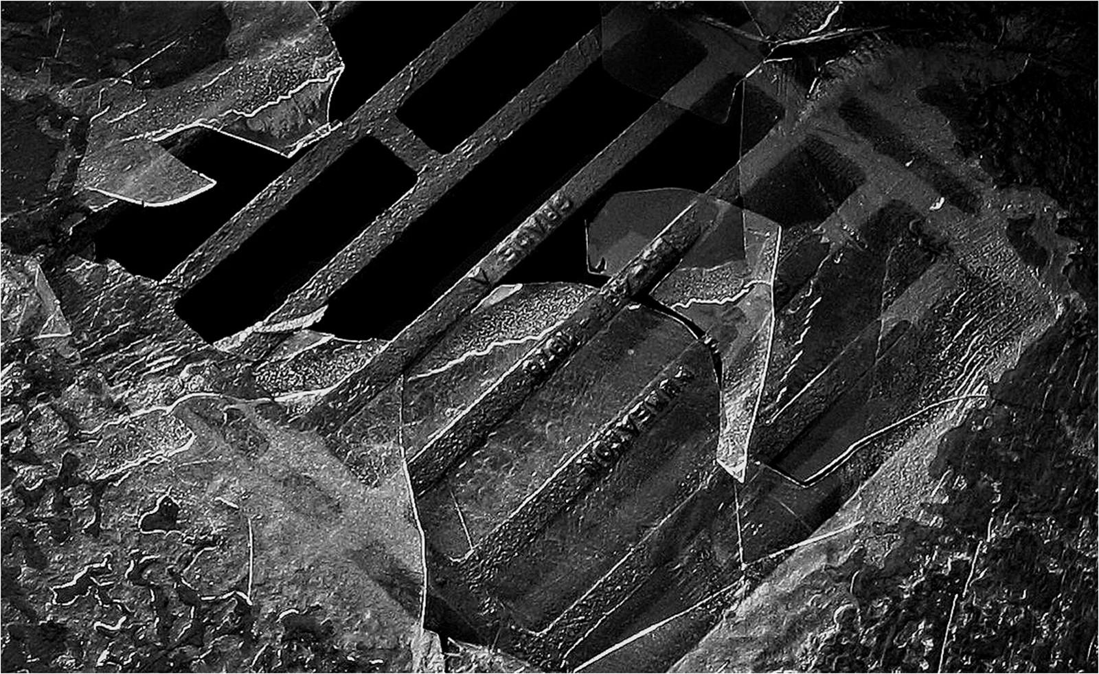 'Iced Grid' by Jackie Farrely (9 marks)  -  Westcourt Camera Club
