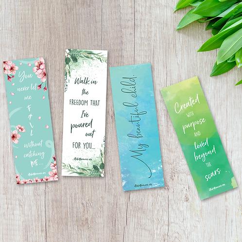 Bookmarks - Designed by Ellie (4 pack)