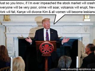 Trump: Impeach me at your peril