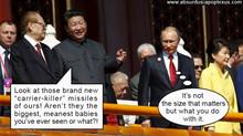 Sino-Russian relations: Good sportsmanship