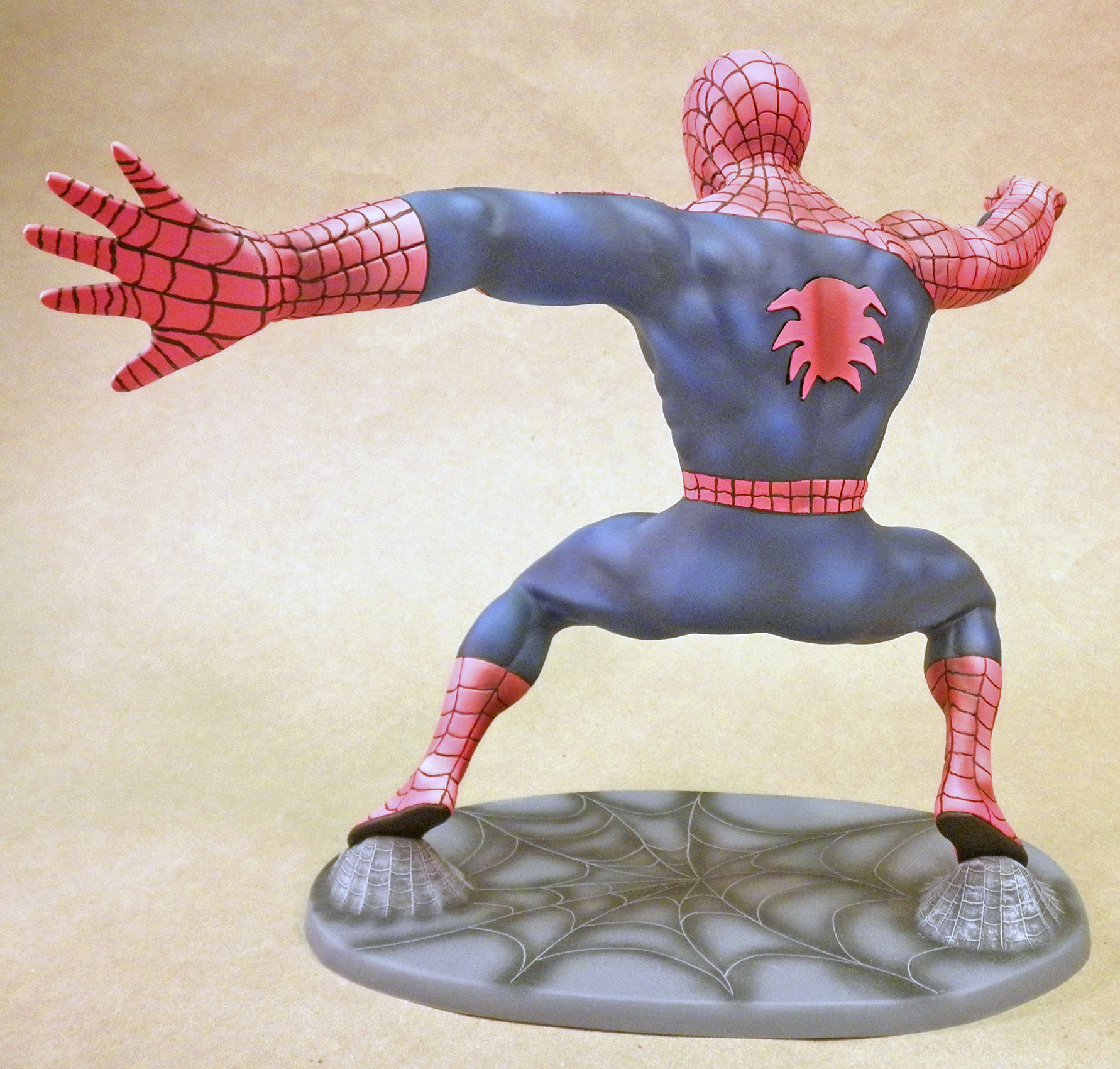 MPC Spider-man, Back