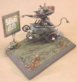 Satan's Crate, Front