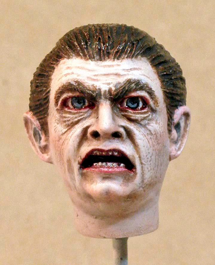Dracula's Head, Front