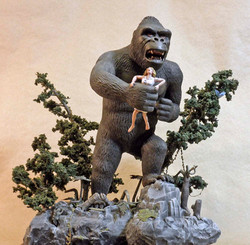 King Kong from a Low Angle