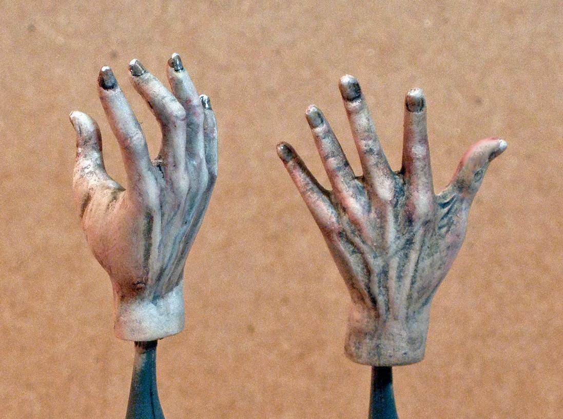 The Phantom's Hands, Back