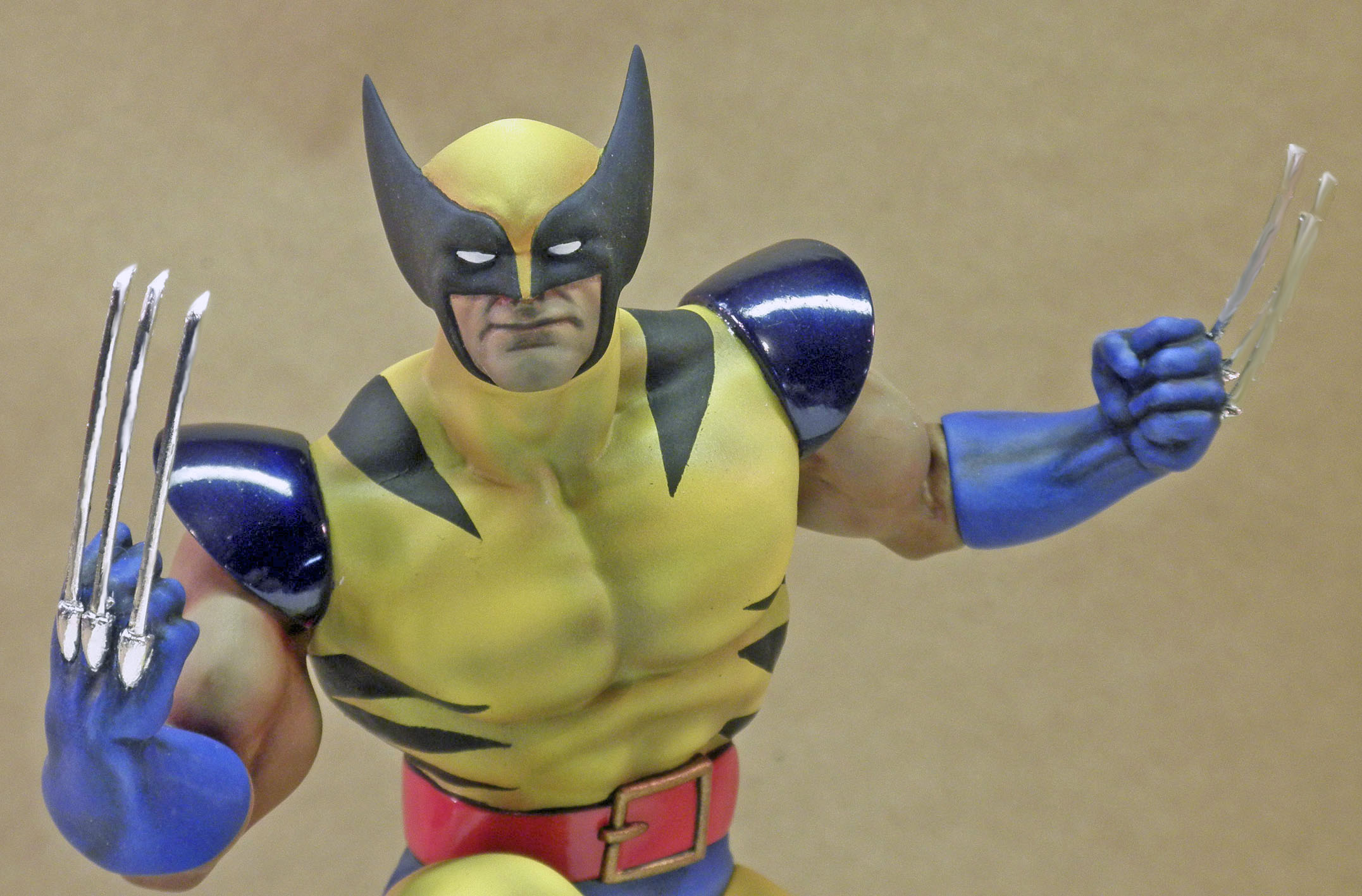 Polar Lights Wolverine Mask_Close Up