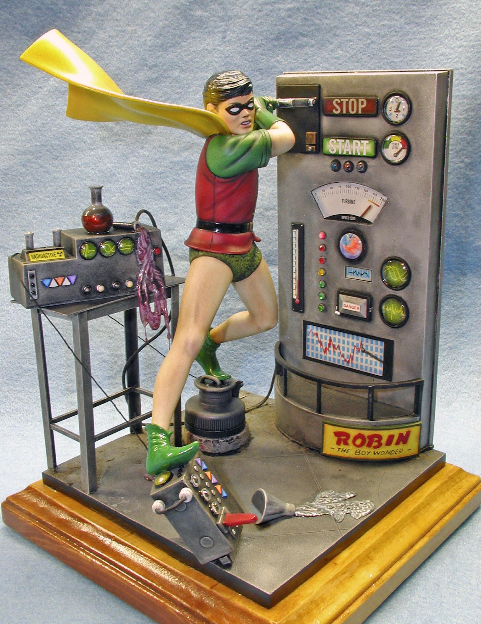 Robin, Angle