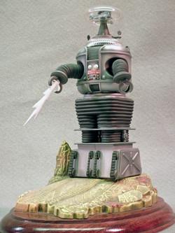 LiS Robot Full Left, Low Angle