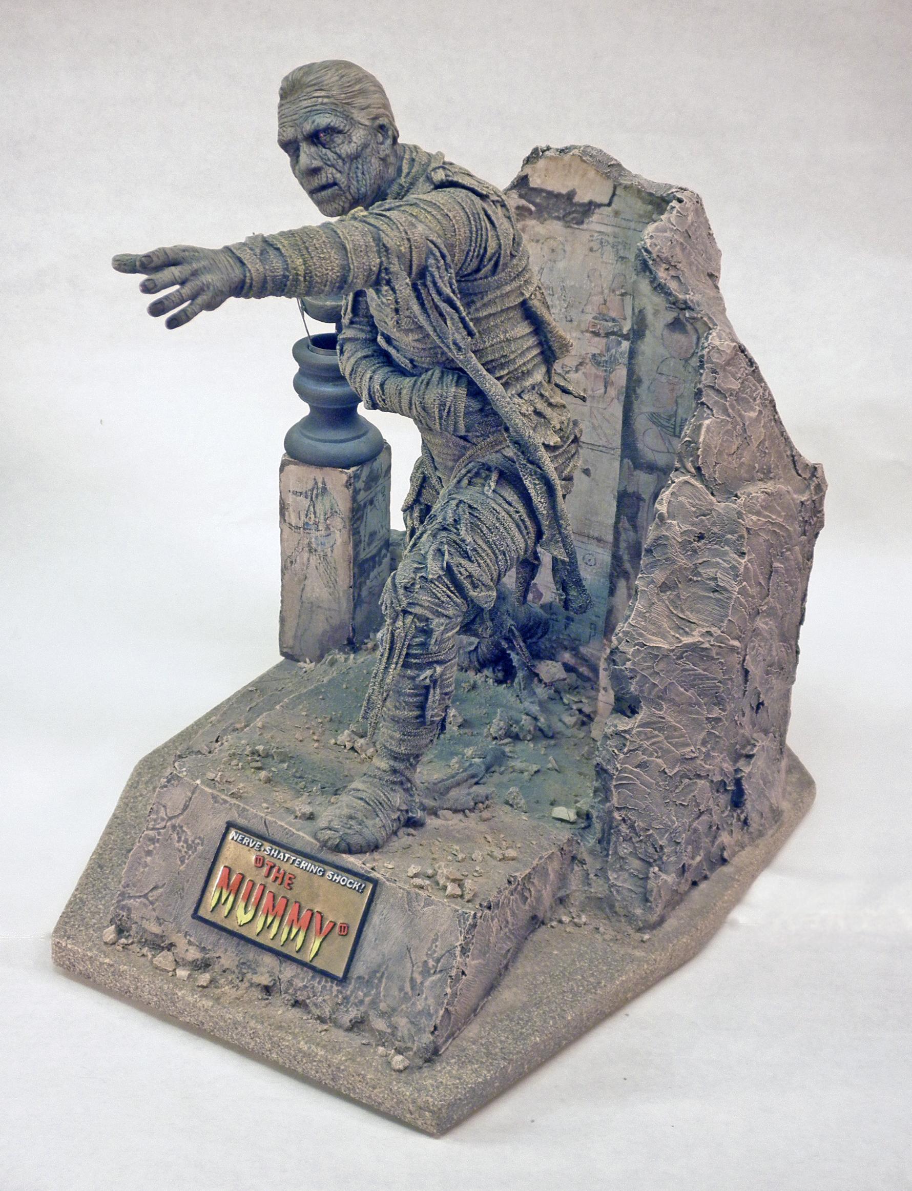 The Horizon Mummy, Left