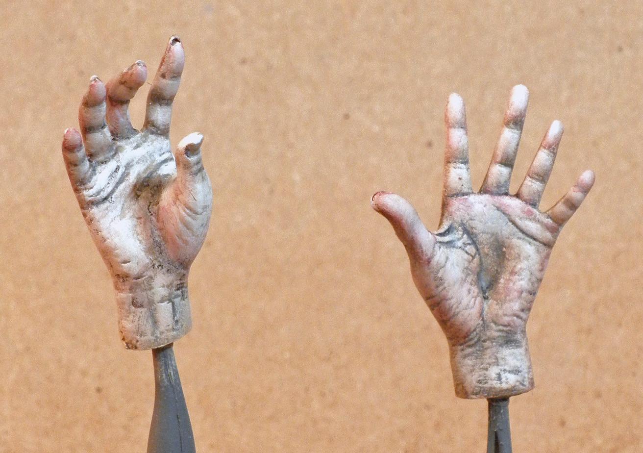 The Phantom's Hands, Palms