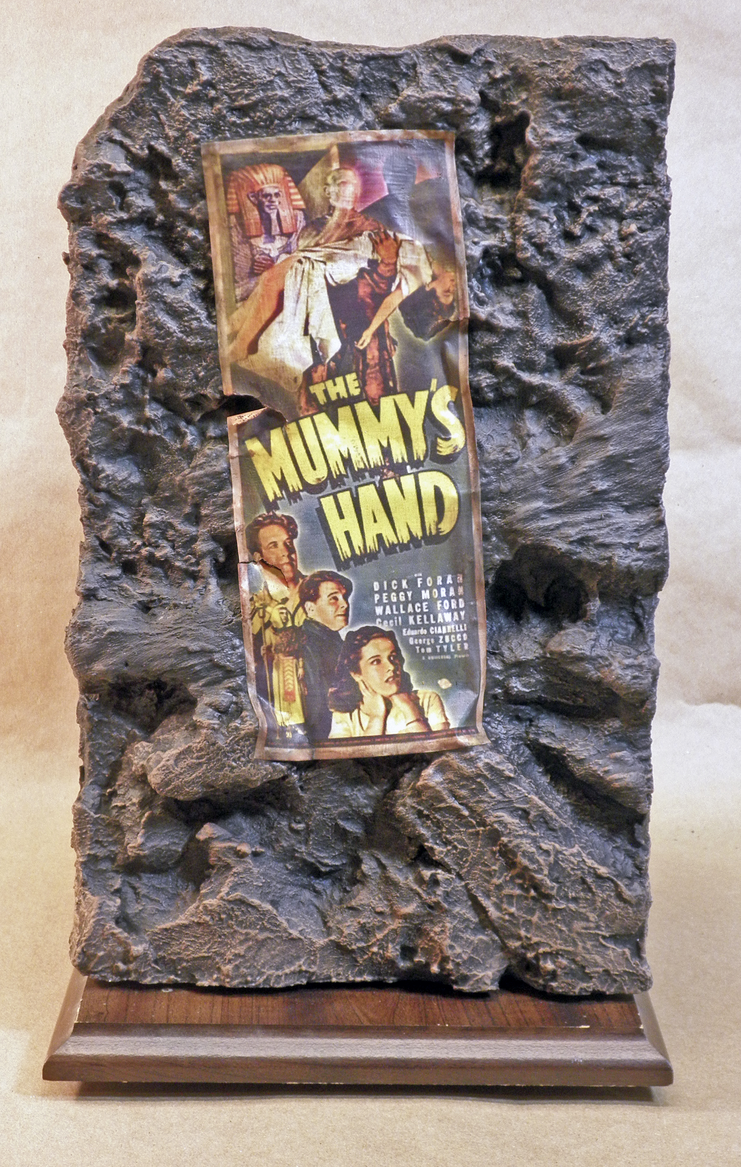 The Mummy's Hand, Back