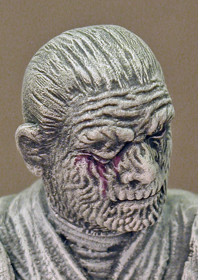 The Mummy, Close Up, Right