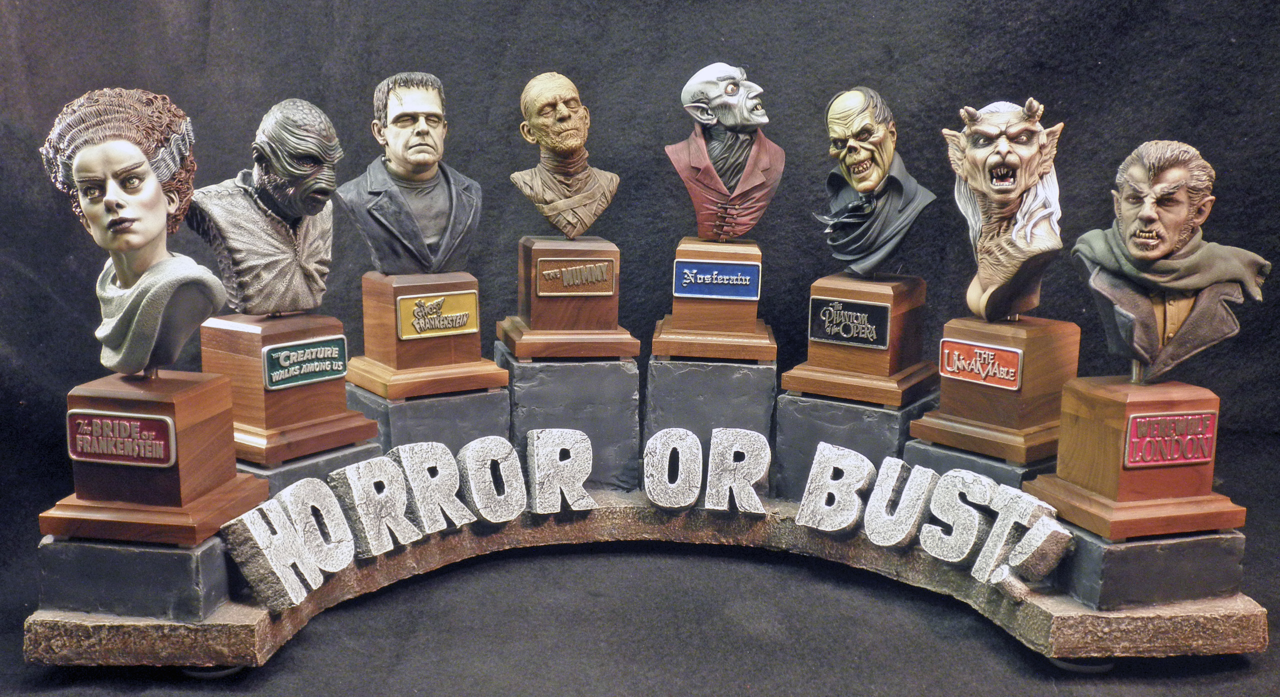 Horror Or Bust! Collection
