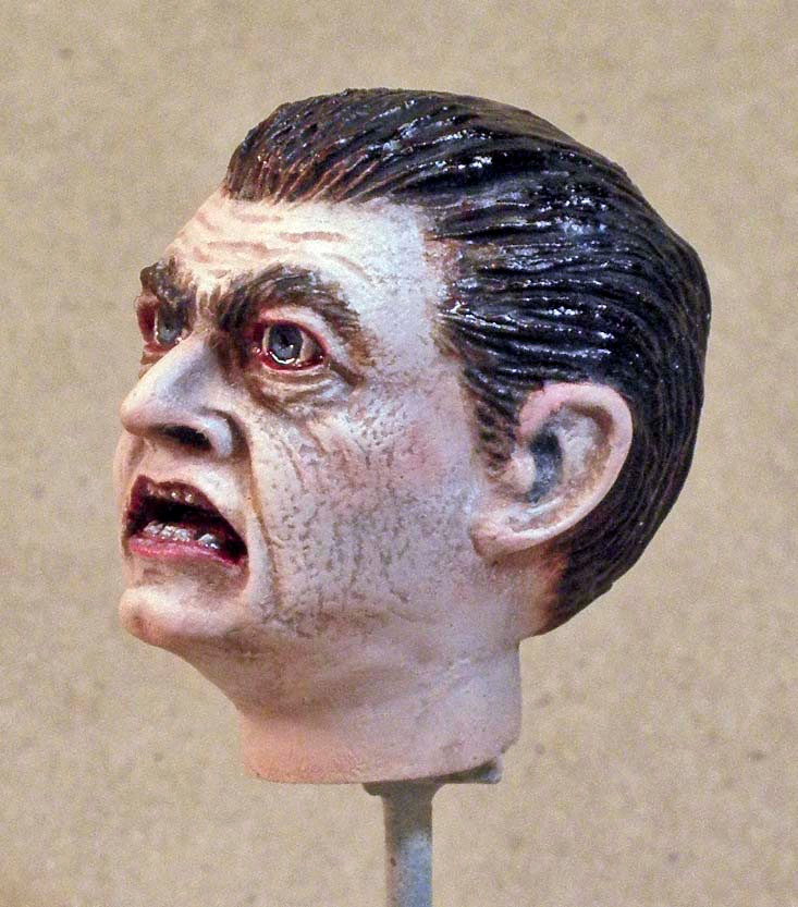 Dracula's Head, Left