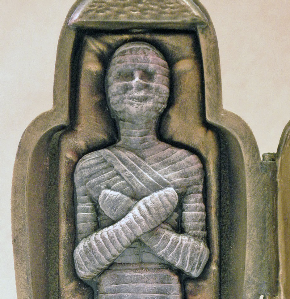 SC Mummy, Close Up