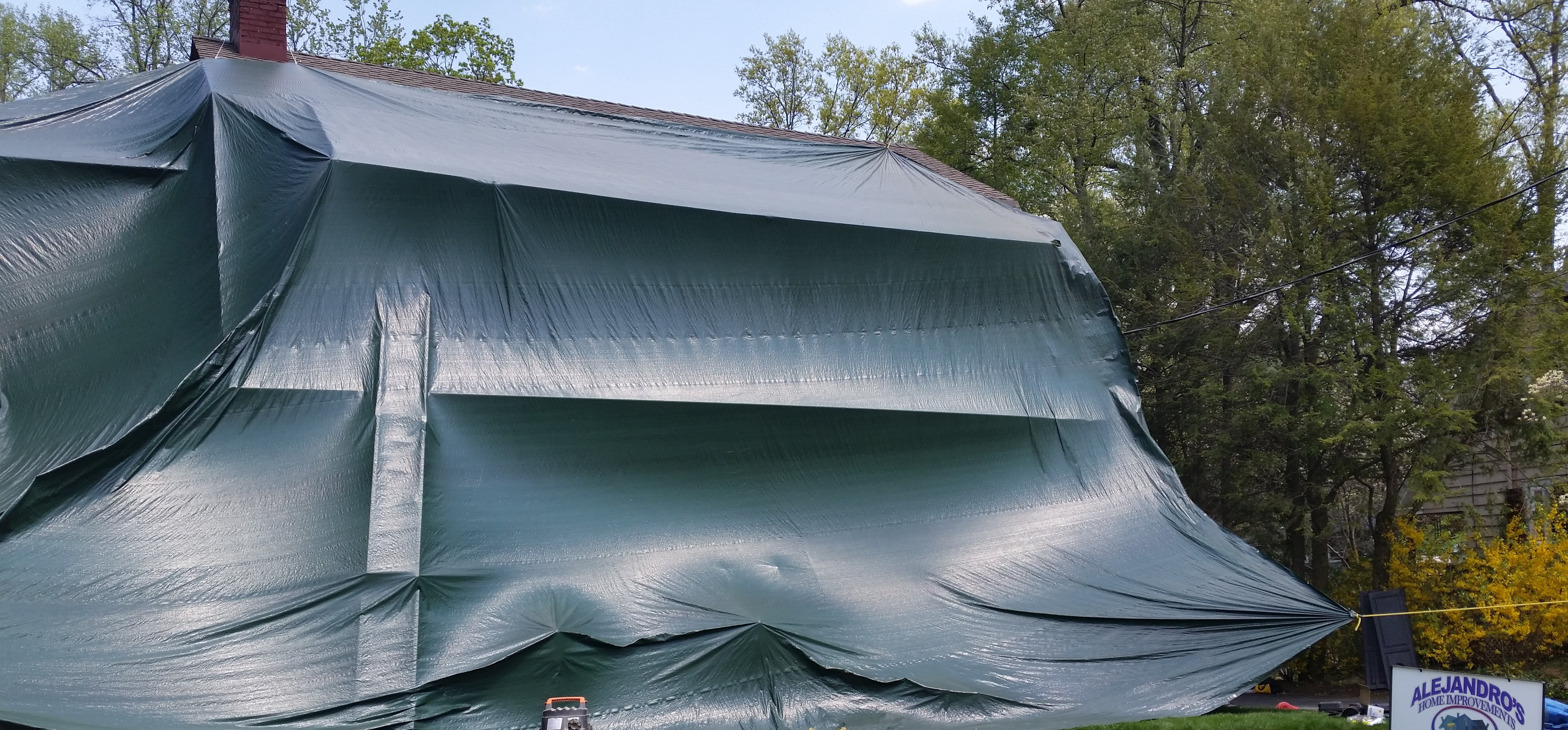 Tarped House