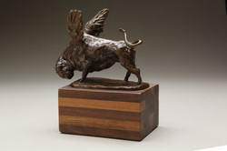 Bull with Wings