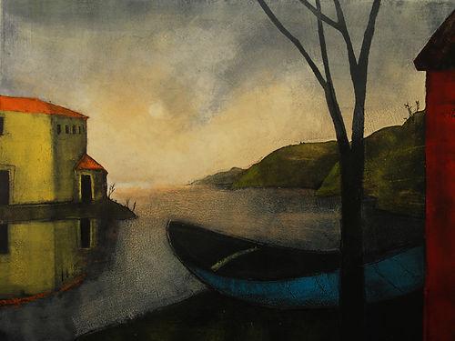 Treacy Ziegler - In A Small Blue Boat, 2