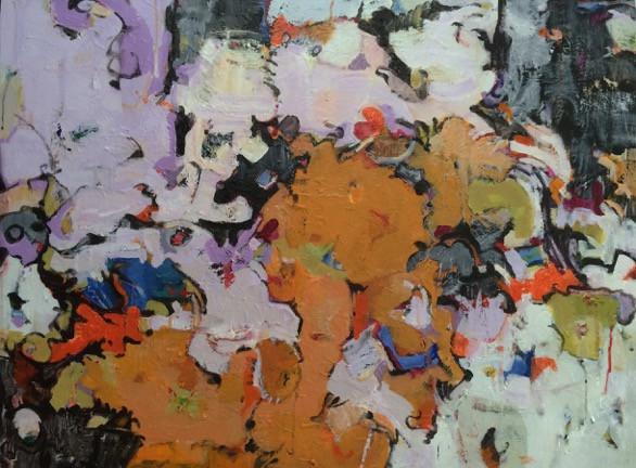 """Orange Segment"" by Sheila Grabarsky"