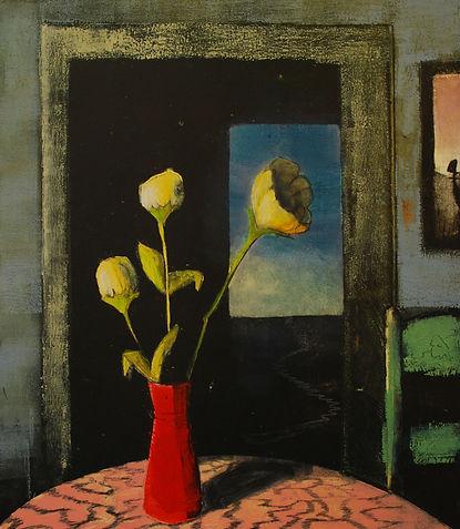 Flowers Left on Kitchen Table_Treacy Zie