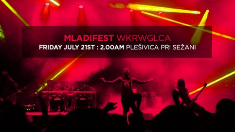 Headlining Mladifest on July 21st