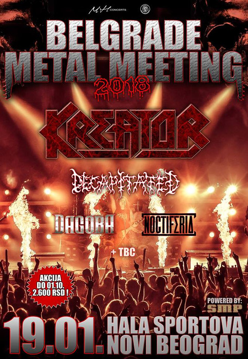 Noctiferia confirmed for 1st Belgrade Metal Meeting!