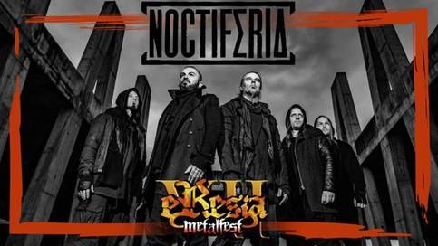 NOCTIFERIA To Headline Eresia Metalfest's Saturday Night
