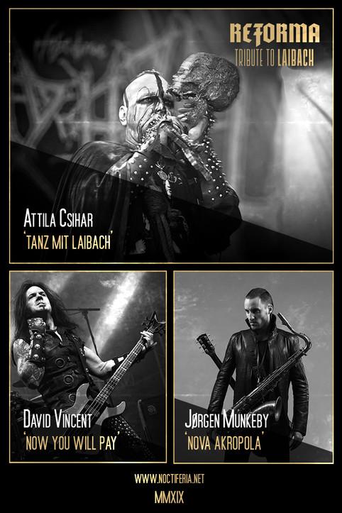 Mayhem's Attila Csihar joined Reforma project!