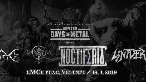 Winter Days Of Metal warm up!
