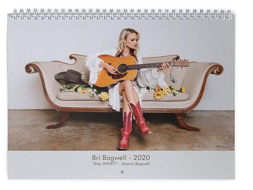 Bri Bagwell 2020 Calendar