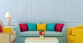 A importância das cores corretas nos ambientes internos
