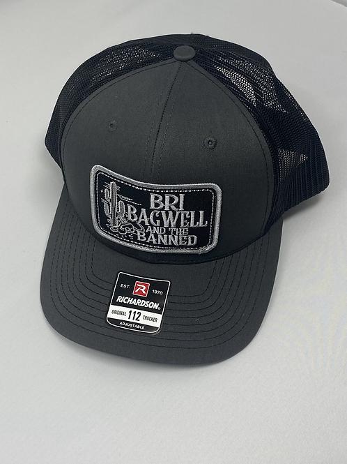 Black Cactus Dark Gray/Black Hat