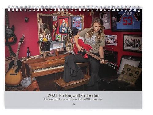 Bri Bagwell 2021 Calendar