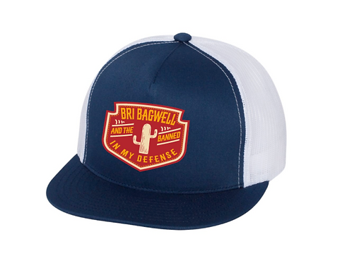 Red Patch Blue/White Hat
