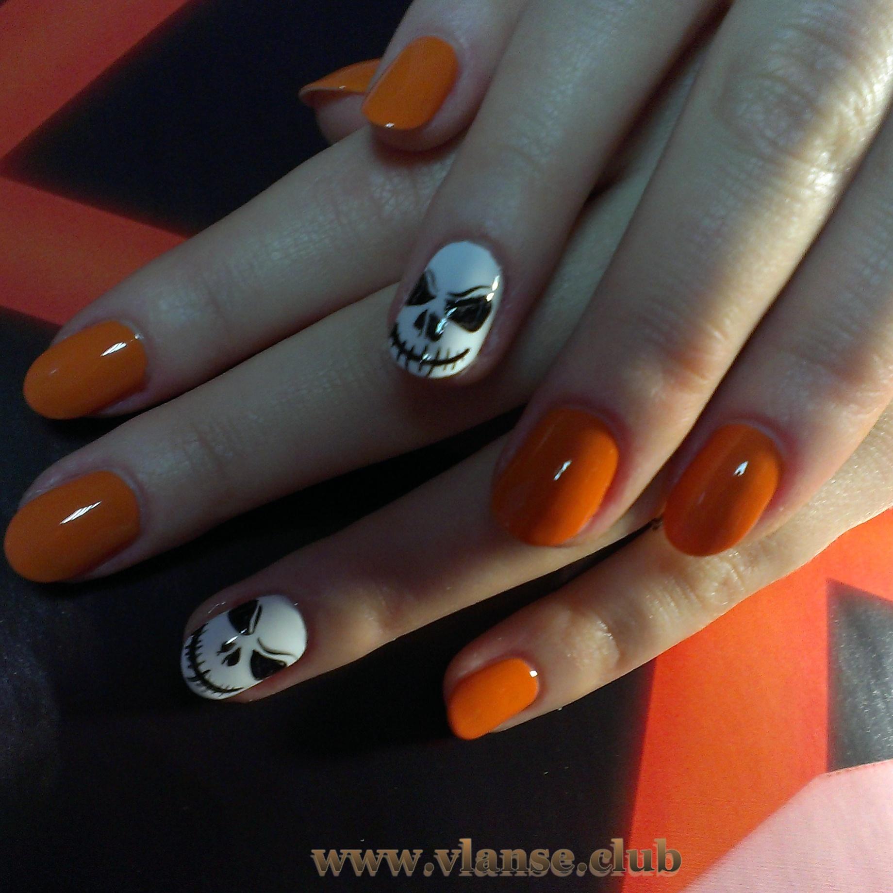 смелый дизайн ногтей