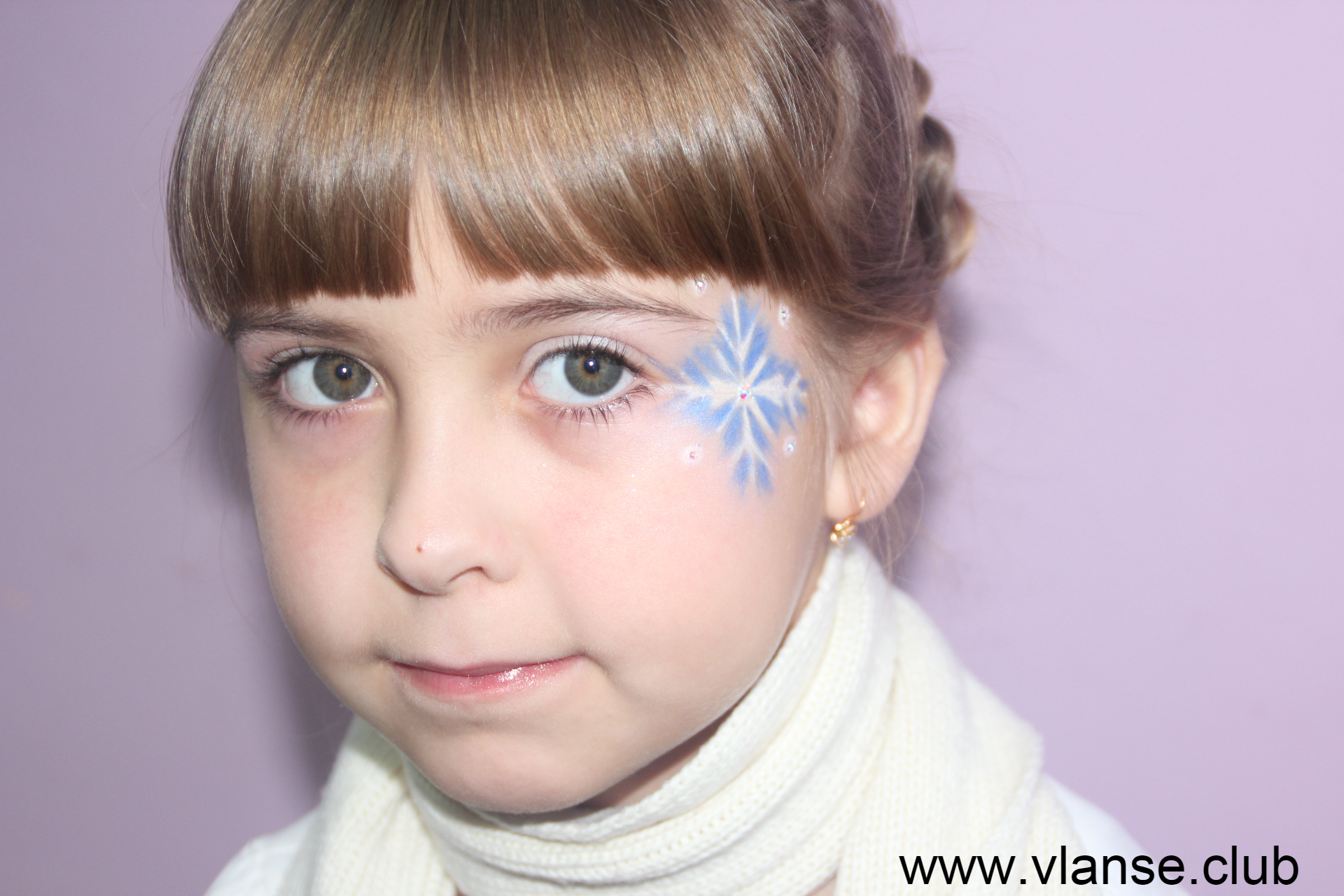 Новогодний детский макияж.JPG