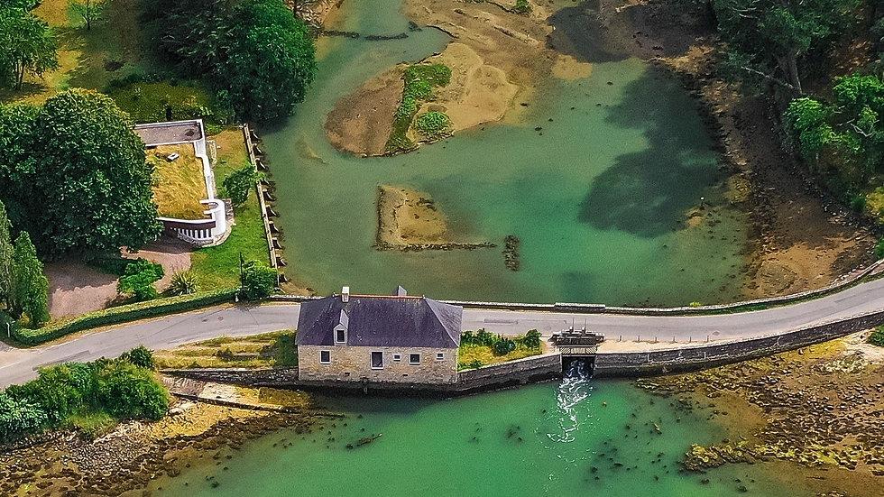 photos concours Images ,  pont du Lindin golf du Morbihan en  Bretagne