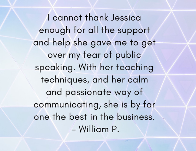 I cannot thank Jessica enough for all th