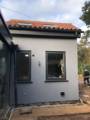 grey silicone render