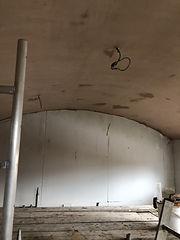 ceiling skimmed