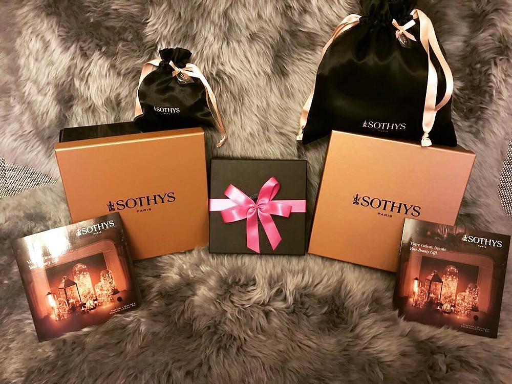 Geschenkverpackungen und Gutscheine von Sothys