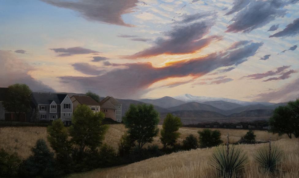 Sunset Ridge. Private Commission.
