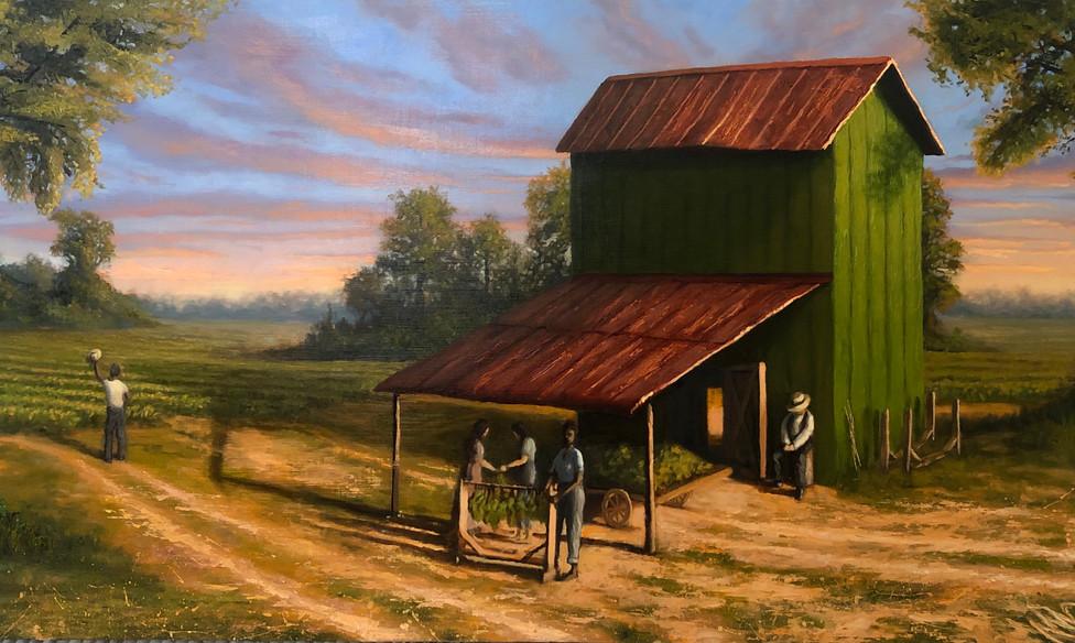 Tobacco Barn. Private Commission.