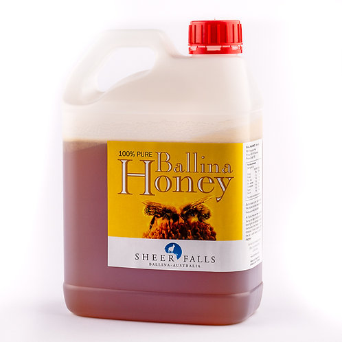 2.6kg Gerry Can Pure Raw Ballina Honey