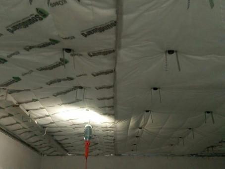 Звукоизоляция потолка ул.Фадеева