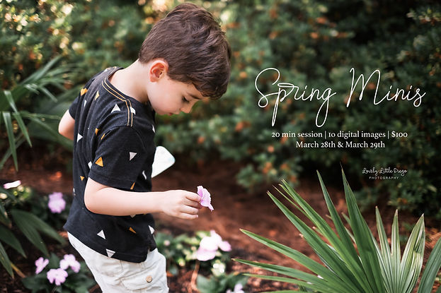 Spring Mini sessions in Raleigh