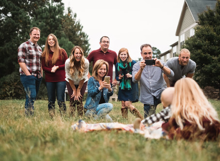 Extended Family Fun Pictures