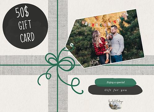 Holiday Gift Card $50